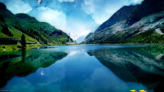 Great-Canyon-Lake-lake-wallpaper-landscape-1366x768