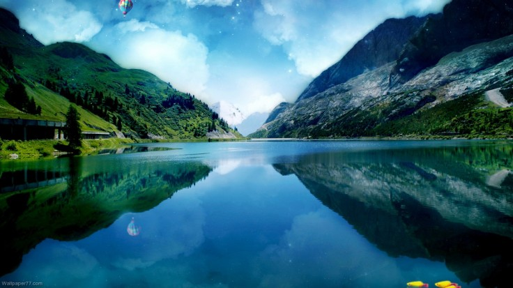 Great-Canyon-Lake-lake-wallpaper-landscape-1366x768