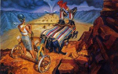 beshalah-chariot